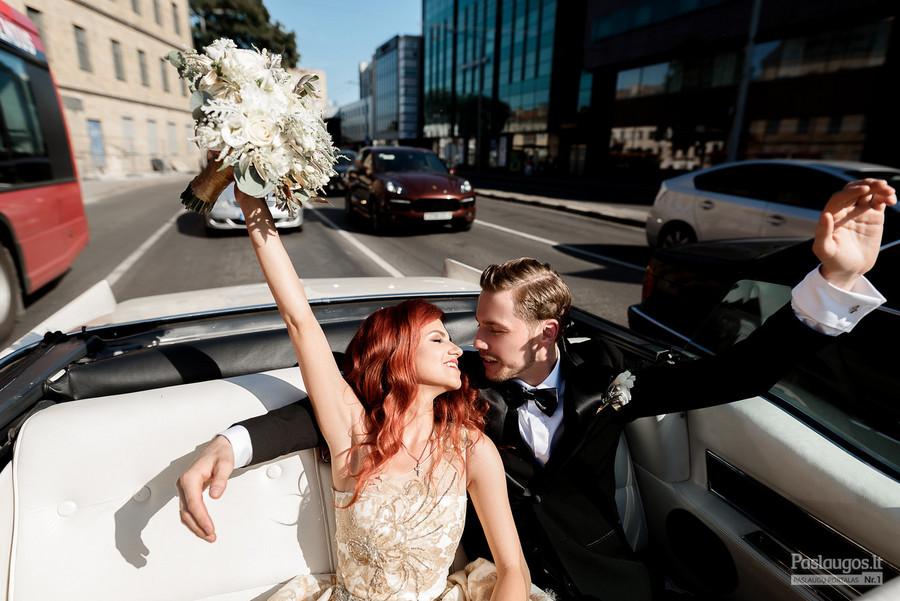 Vestuvių planuotojos Erikos Semaško nuotrauka