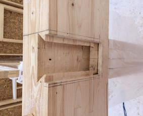 Dailidės paslaugos. Mediniu konstrukciju statyba