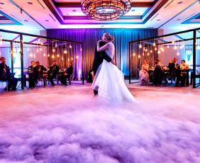 Žemas rūkas vestuvėms   Įspūdingas Jaunųjų pirmasis šokis
