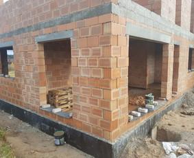 Mūro darbai - blokeliai, plytos. Brigada, atestuota įmonė