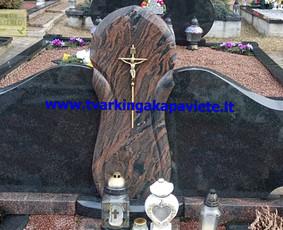 Paminklų gamyba, kapo dengimas plokštėmis, kapų tvarkymas
