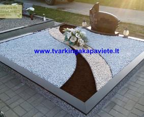 Kapų tvarkymas, paminklų gamyba, granito plokštės. Garantija