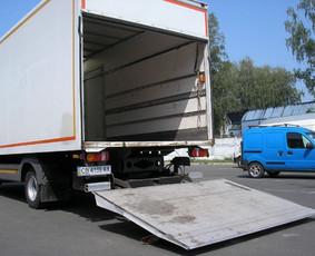 Krovinių pervežimas perkraustymas klaipėdoje