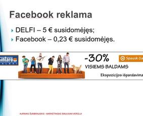 Smulkaus/vid. verslo marketingo konsultantas (12m  patirtis)
