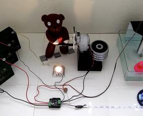 Elektronikos mokymas; prietaisų tobulinimas ir sukūrimas.