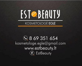 Kosmetologė Eglė Klaipėda