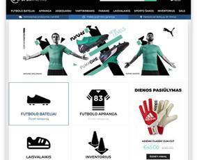 Interneto svetainės ir el. parduotuvės.
