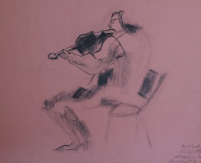 Jauna menininkė Vilniuje