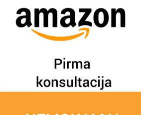 Konsultacija Amazon verslo klausimais