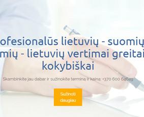 Suomių kalbos vertimai