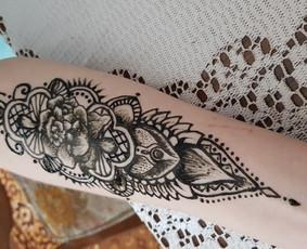 Laikinos chna - henna tatuiruotės Kaune