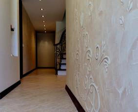 Sienų dekoravimas vokišku tinku