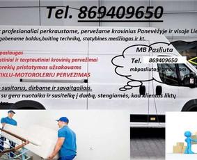Perkraustymo paslaugos Panevėžyje