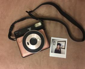 FujiFilm Instax SQ6 momentinio fotoaparato nuoma