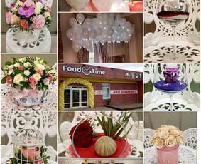 Vestuvinė atributika, puokštės, balionai