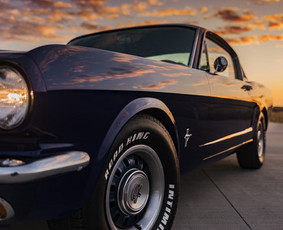 1965 Mustang Fastback nuoma