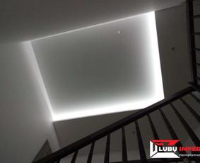 Įtempiamos lubos nuo 7,90 Eur/m2
