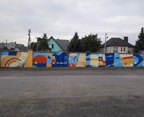 Sienų tapyba, graffiti, iliustracijos, dekoras, paveikslai