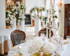 Vestuvių dekoravimas ir papuošimas