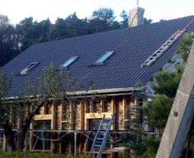 Senu mediniu namu renovacija,rekonstrukcija