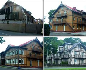 Architekto paslaugos. Kultūros paveldo objektai.