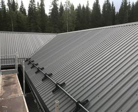 Sienų mūras, stogai, šiltinimas, betonavimas...