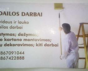 APDAILOS DARBAI