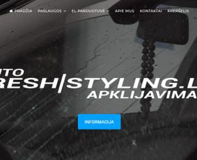 Internetinių svetainių, el. parduotuvių kūrimas