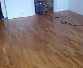Mediniu grindu,parketo, irengimas,slifavimas bei apdirbimas.