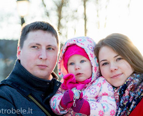 Fotografė Vilniuje