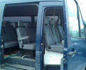 Keleivių pervežimas - mikroautobuso nuoma su vairuotoju
