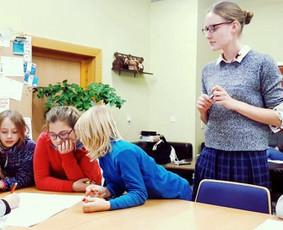 Anglų ir lietuvių kalbos mokytoja