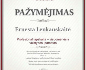 Buhalterinės apskaitos paslaugos Klaipėdoje