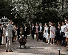 Renginių vedėjas Aurimas Cibulskas