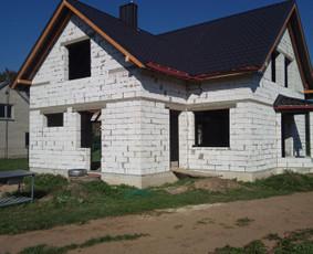 Stogo dengimo paslaugos ir kiti statybos darbai.