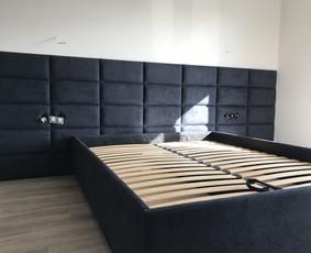 Minkštos 3D sienų plokštės, lovos, galvūgaliai