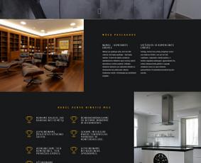 Web puslapių kūrimas, dizainas, SEO