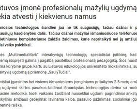 Tekstų kūrėjas | Komunikacijos specialistas (LT ir EN)
