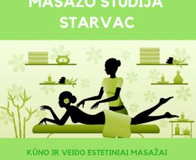Masažo studija STARVAC / Lorna