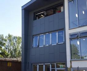 Ventiluojami / tinko / aliuminio fasadai ir langų, durų p...