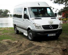 Keleivinių Mercedes Sprinter mikroautobusų nuoma