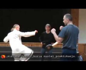 Netradicinės treniruotės pagal senąjį Kung fu meną