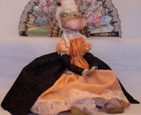 Interjerinės tekstilinės lėlės