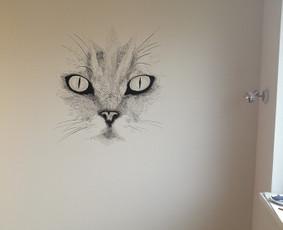 Meninis sienų dažymas