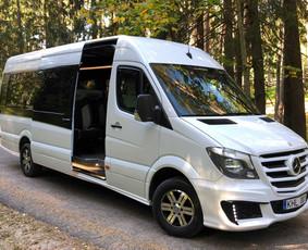 Keleivių pervežimas ( mikroautobusų nuoma)