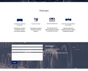 Svetainių kūrimas, web aplikacijų kūrimas