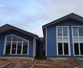 Karkasinių namų statyba. Karkaso koncepcija.