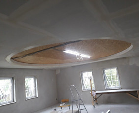 Gipso kartono lubų, sienų ir pertvarų montavimas