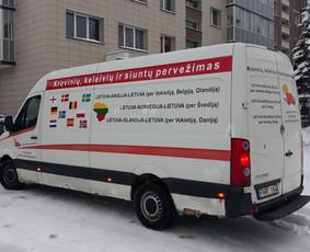 Krovinių pervežimas ir perkraustymo paslaugos