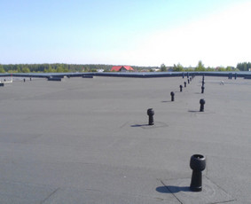 Bituminiai prilydomi stogai, šiltinimas skardų lankstimas